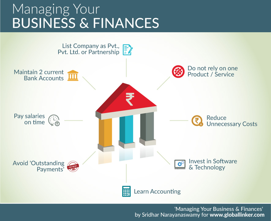 Managing Your Business & Finances: Some Practical Tips