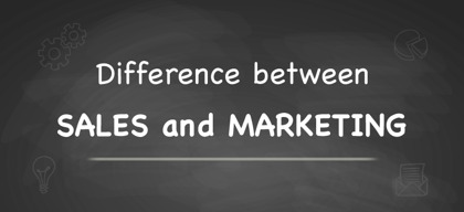 The Difference Between Sales & Marketing