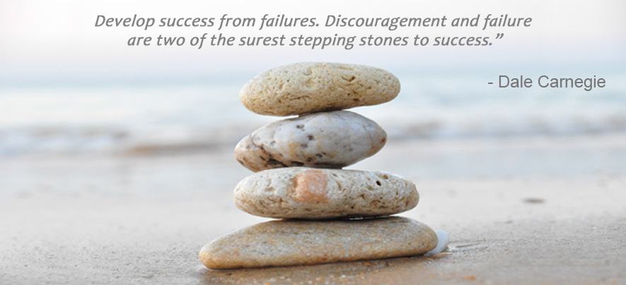 Failure as the Stepping Stone to Success