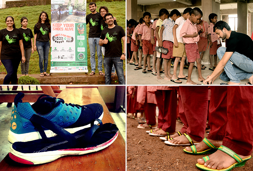 Making shoes for those who need it & making a difference along the way: Greensole