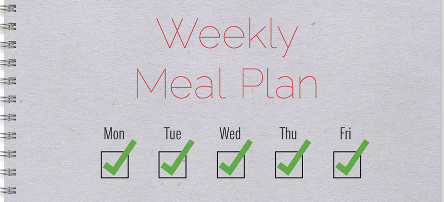 5 tricks for preparing healthy food for a busy week at work