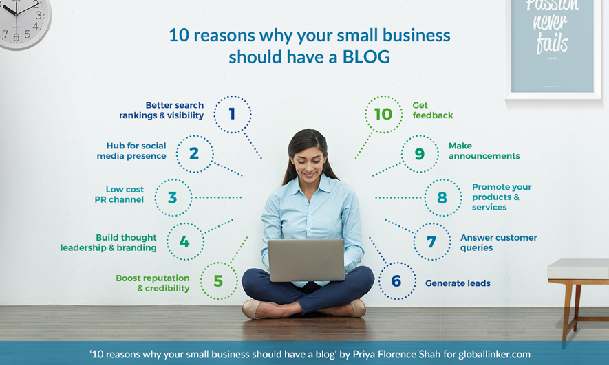 10 reasons why your small business should have a blog