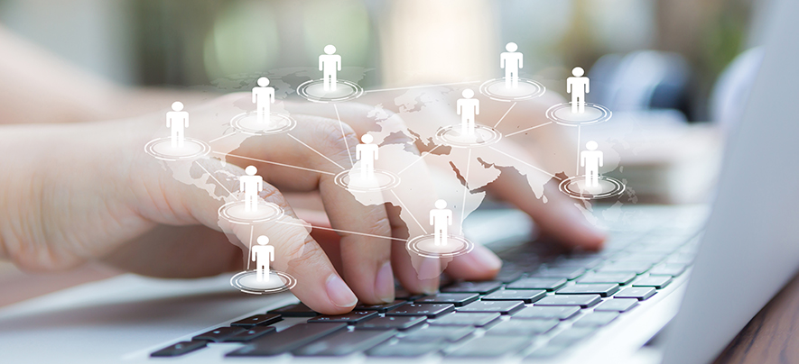 How to network professionally online