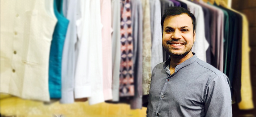 Entrepreneurial itch transforms finance professional into menswear designer
