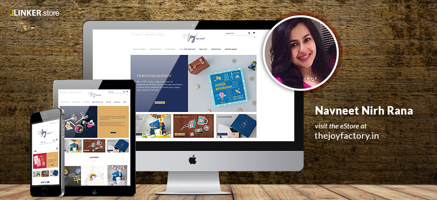 Taking her business online with LINKER.store has been a 'joy' for this entrepreneur