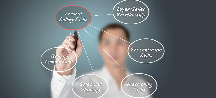 5 basic skills will determine how much you sell