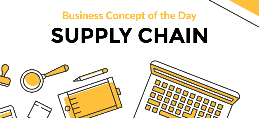 Supply Chain - Business concept of the day