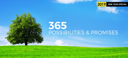 A New Year: 365 days of possibilities & promises