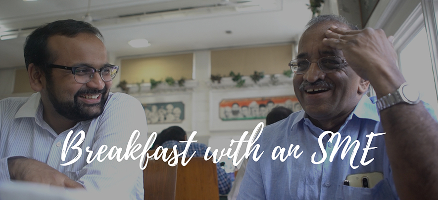 Breakfast with an SME - N. Sridhar, Innovatus Systems
