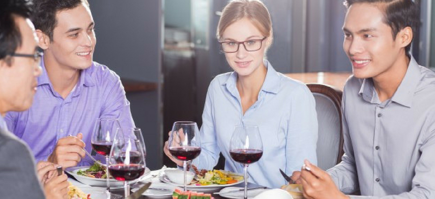 Top 7 mistakes you can make at a business lunch