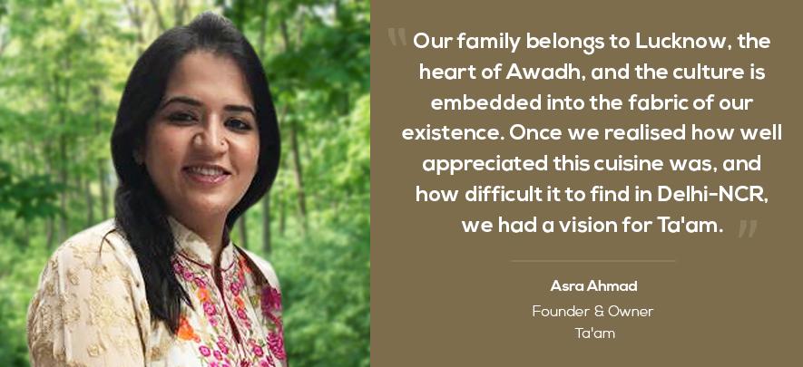 Entrepreneur brings authentic Awadhi food to Delhi-NCR