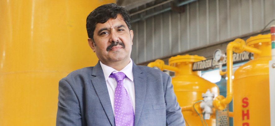 When his industrial gas plant was slow to take off, this entrepreneur implemented an innovative strategy & found success