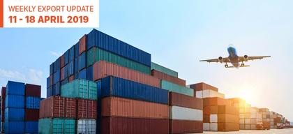 Weekly Export Update: 11 – 18 April 2019
