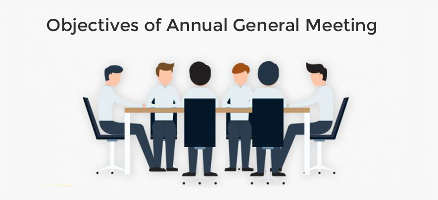 What are the objectives of an Annual General Meeting of a company?