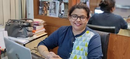 Madhumita Sarkar Guha, Founder, Luxe Living