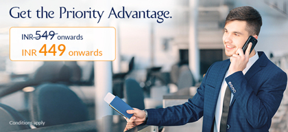 Save time at airports with Jet Airways 'Priority Advantage'