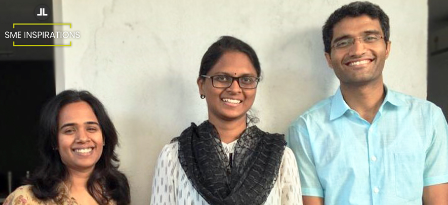 Kirti Poddatoori, Sowjanya Bonda, Dhruv Tandan, Founders, AND Business Consulting