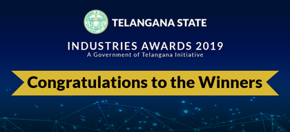 Announcing the winners of Telangana State Industries Awards 2019!