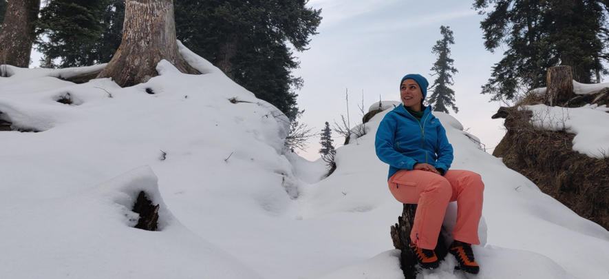 Third generation woman entrepreneur and mountaineer reimagines family business