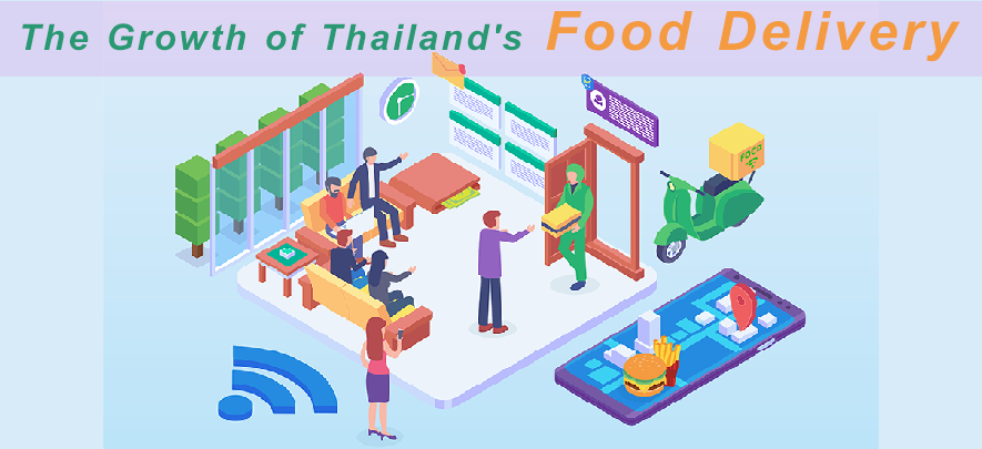 The Growth of Thailand's Food Delivery Market