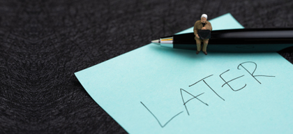 The art of procrastination and how to avoid it