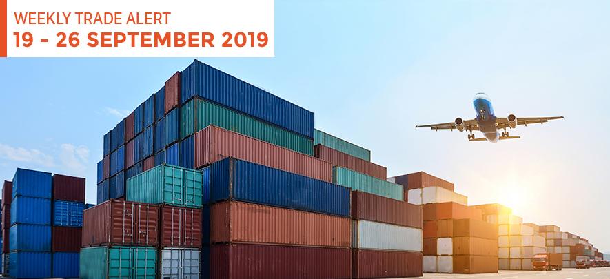 Weekly Trade Alert: 19 – 26 September