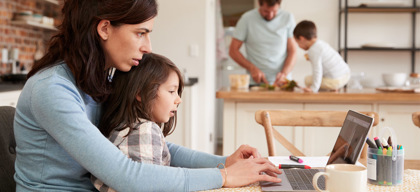 Work from home – How it can affect others in the family