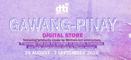 Gawang Pinay: Goods sold online with the female touch