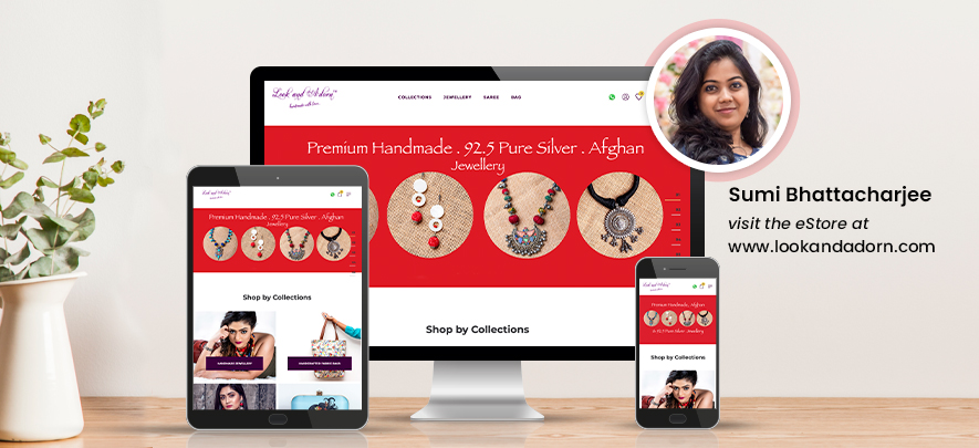 A business dream comes to life with a customised online store