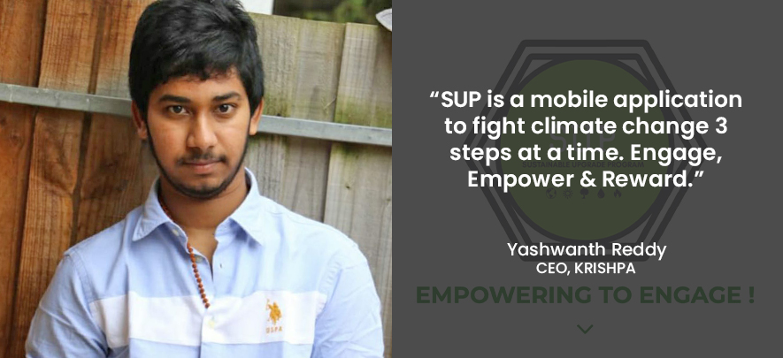 Here's a mobile app that incentivises youth with rewards to save the climate