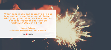 Year-end message from the Lead Advocate
