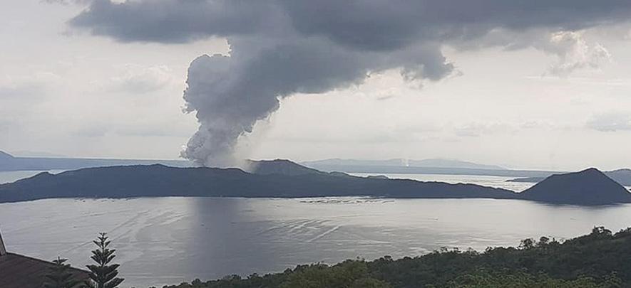 Taal Volcano eruption effect on economy still minimal: NEDA