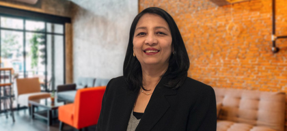 Sangeeta Agarwal, Director, Countertops & Cabinets (India) Pvt Ltd