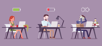 กุญแจสำหรับการทำงานที่มีประสิทธิภาพไม่ใช่เพราะเวลาแต่เป็นพลังงาน