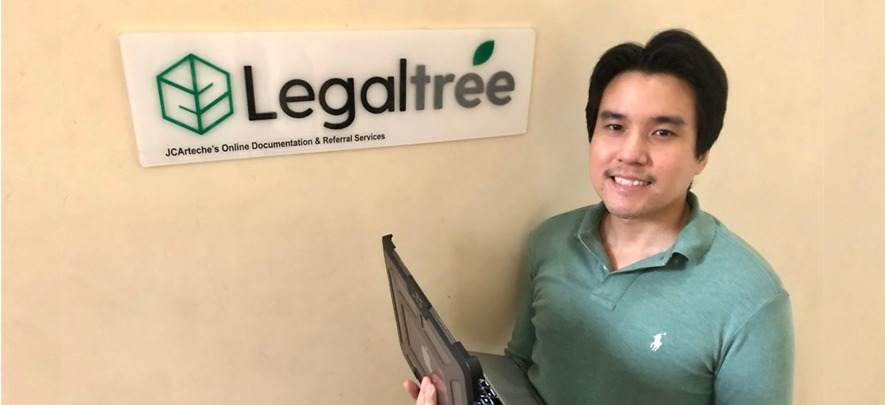 This lawyer-entrepreneur makes legal services simple and affordable with his legal tech startup