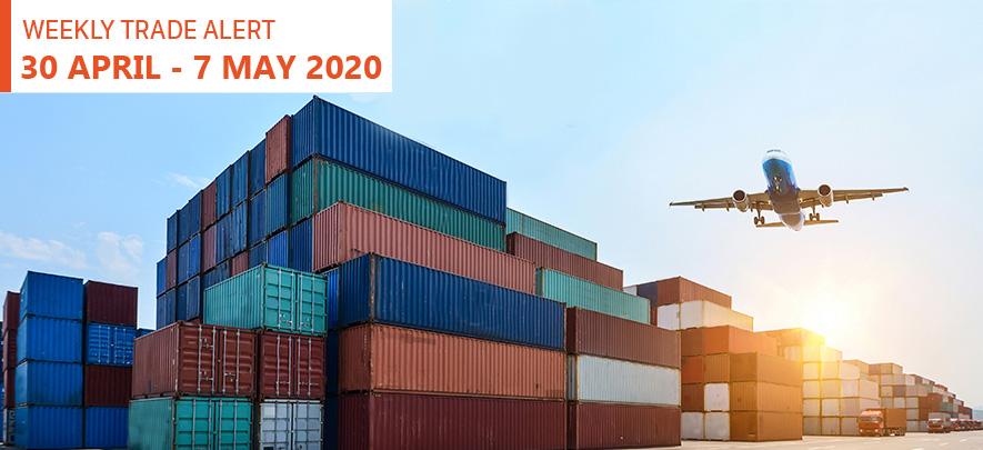 Weekly Trade Alert: 30 April - 7 May