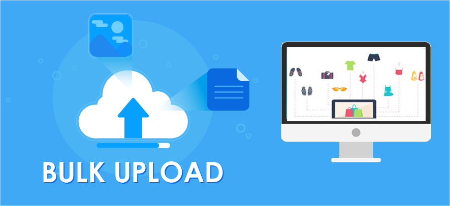 How to use the bulk upload feature to easily upload products on your online store