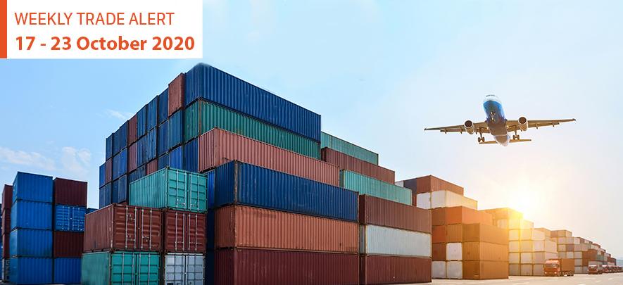 Weekly Trade Alert: 17 – 23 October