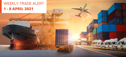 Weekly Trade Alert: 1 – 8 April