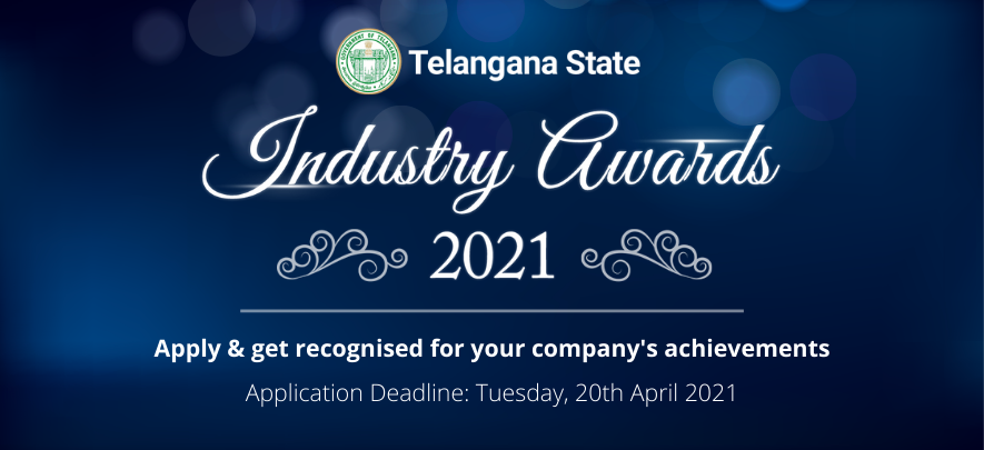 Your chance to win the Telangana State Industry Awards 2021
