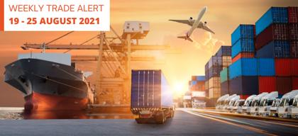 Weekly Trade Alert: 19 – 25 August