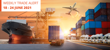 Weekly Trade Alert: 18 – 24 June