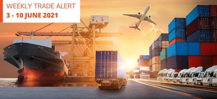 Weekly Trade Alert: 3 – 10 June