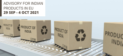 Advisory for Indian products in EU: 29 September – 4 October 2021