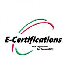 E Certifications